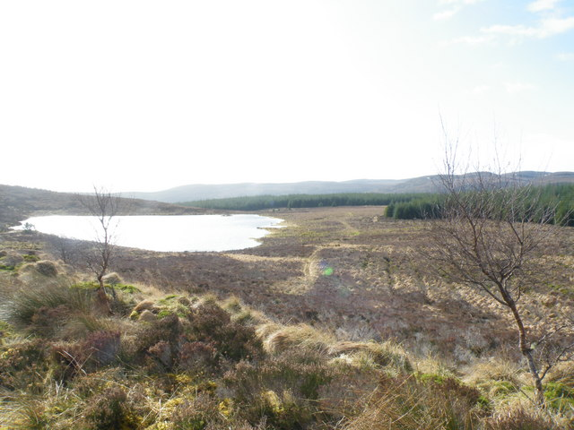 Drainage Ditches crossing Open Moorland