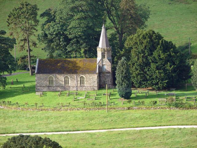 St. Garmon's church, Llanarmon Dyffryn Ceiriog