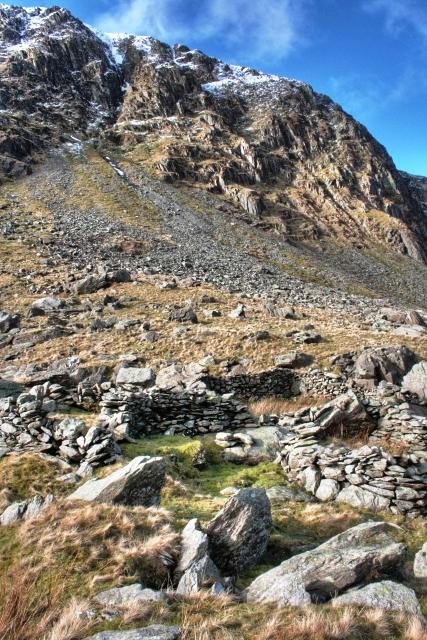 Sheepfolds Below Harter Fell Gully