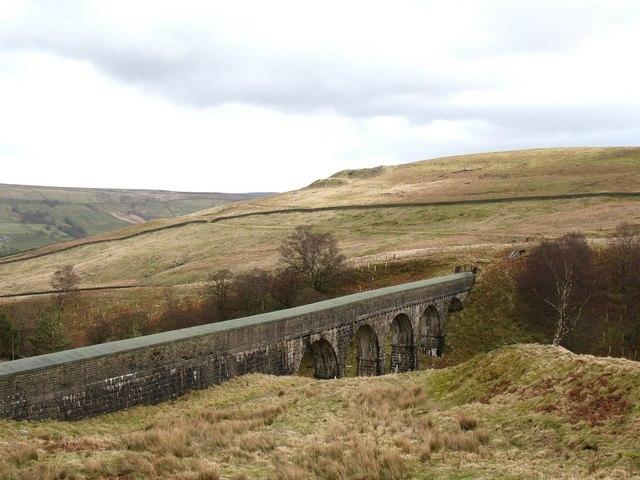 Blayshaw Gill aqueduct