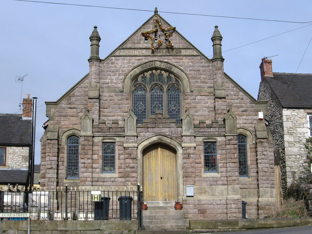 Middleton-by-Wirksworth - Primitive Methodist Church