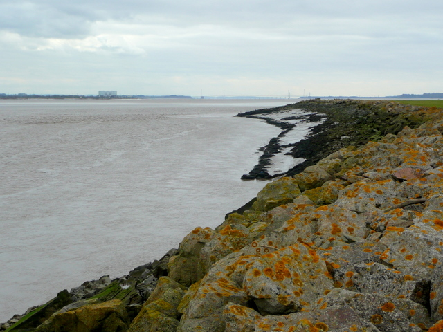 Severn shoreline, looking south-west