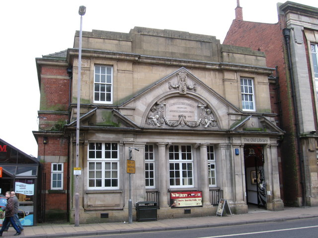 Mansfield - Old Library