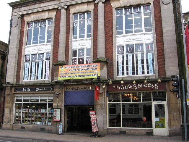 Mansfield - Handley Arcade