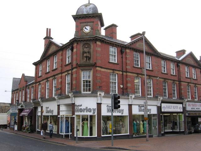 Mansfield - Brunts Buildings