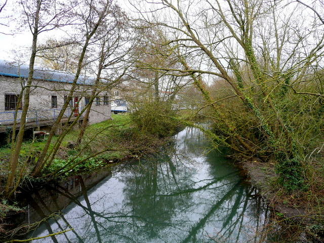 The canalised River Lyd