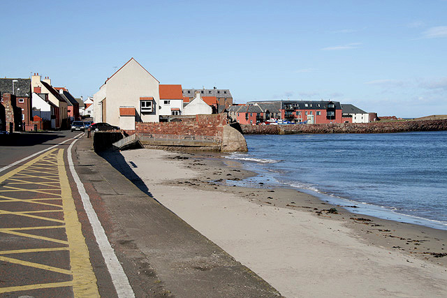 The seaside town of Dunbar