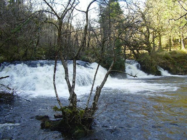 Avich Falls