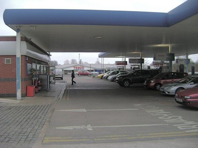 Filling station, Emscote Road