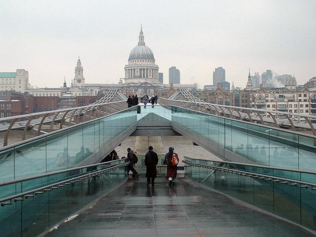Millennium Bridge-St Pauls