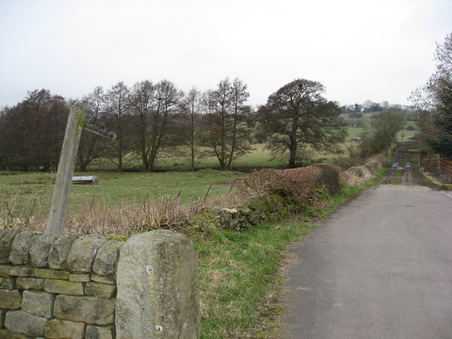 Nether Heage - Footpath to Sawmills