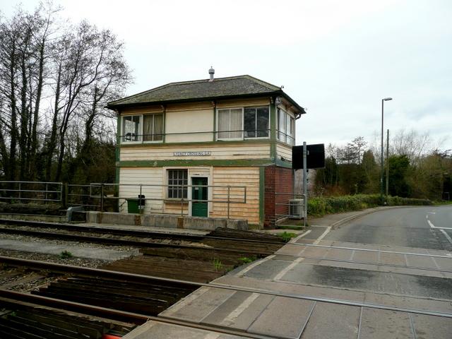 Signal Box, Lydney Crossing