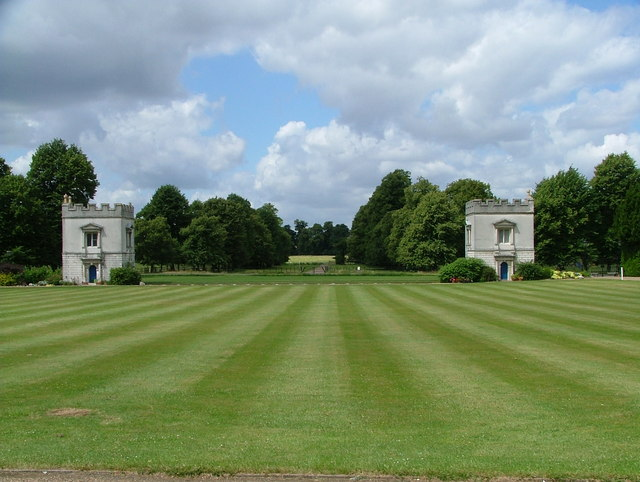 Lawn at front of Syon House