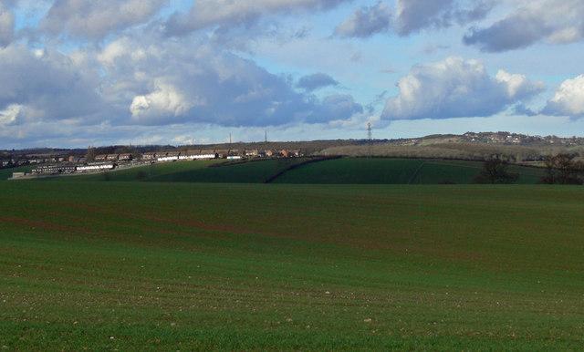 View towards Thornton