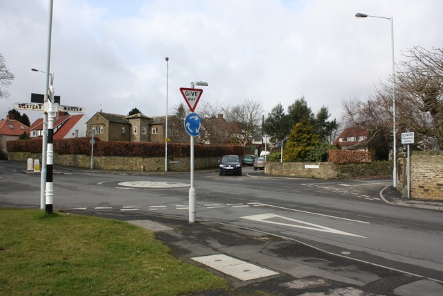 Otley Road Roundabout