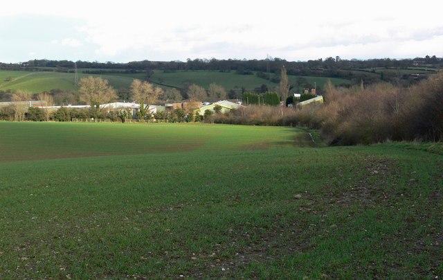 View towards Merry Lees Industrial Estate