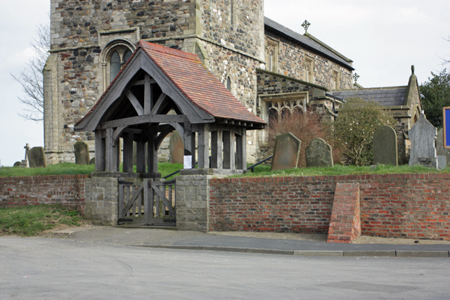 The Lychgate, St Bartholomew's Church, Aldbrough
