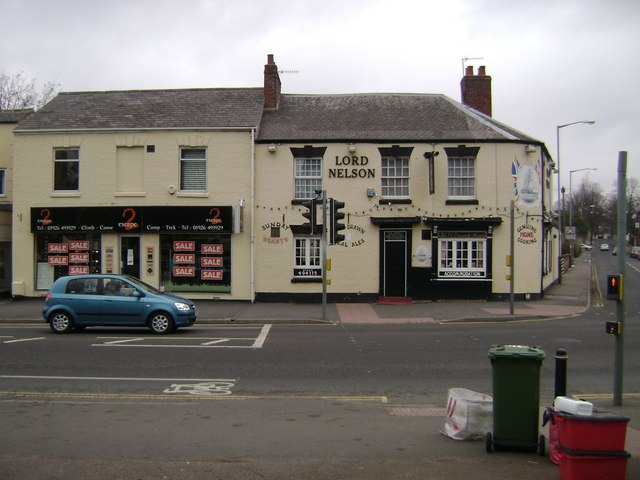 Lord Nelson public house, Emscote Road