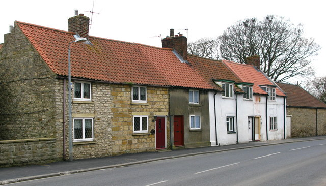 Cottages on Seamer Main Street