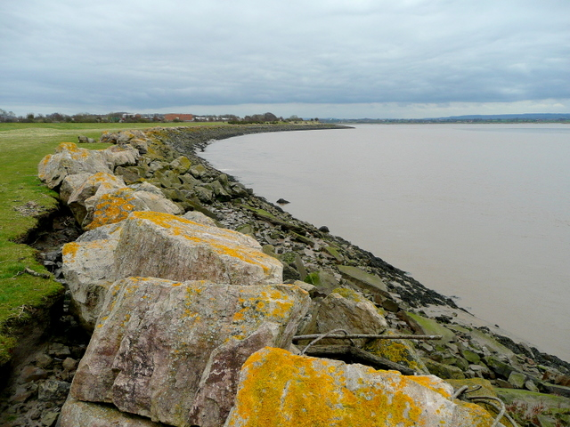 The Severn shore near Lydney Harbour