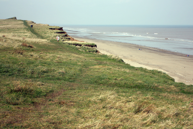 Cliff top path, towards Mount Pleasant