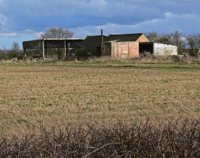 Farm buildings along Bagworth Road