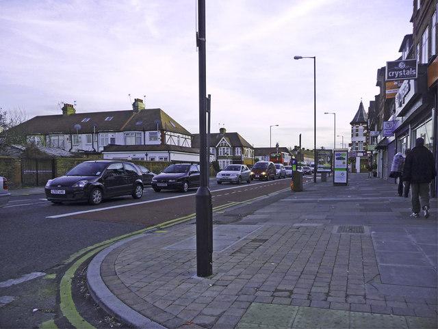 Green Lanes, London N13 (A105)