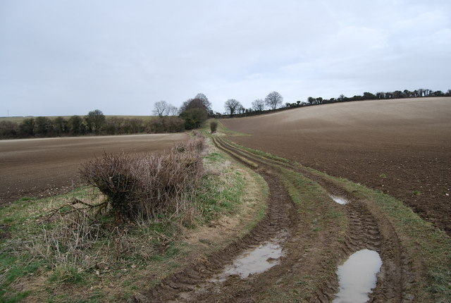 Footpath from Priors Dean