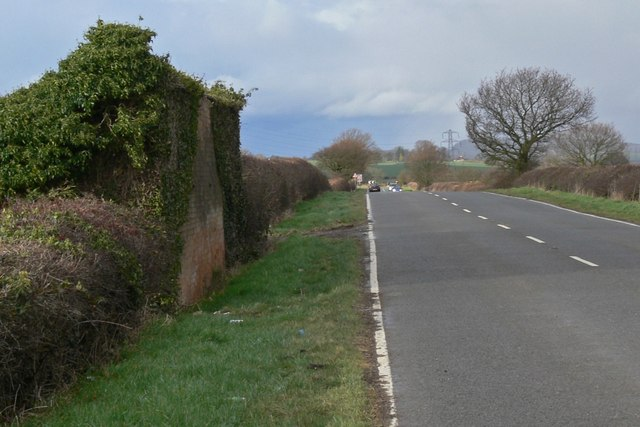 North along Bagworth Road