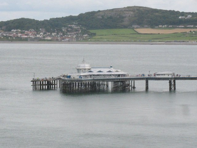 The end of the pier from the Great Orme