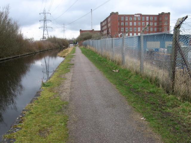 Rochdale Canal near Middleton Junction