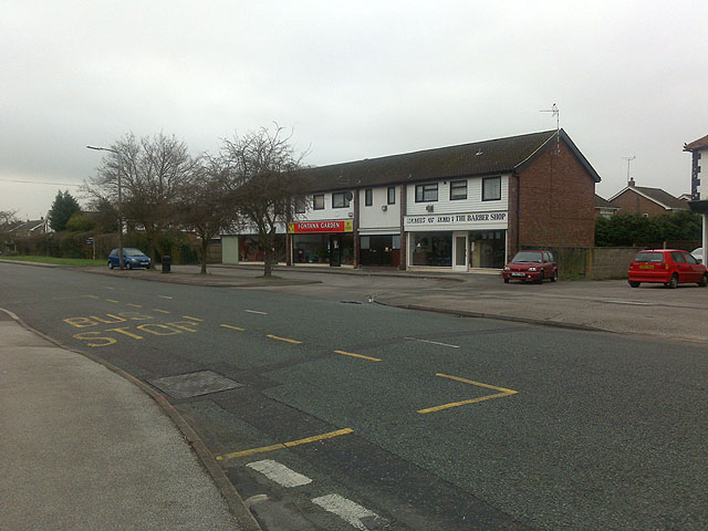 Row of Shops