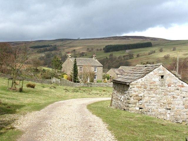 Farmhouse at Stean