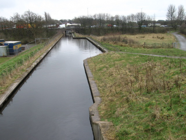 Rochdale Canal near M62 crossing