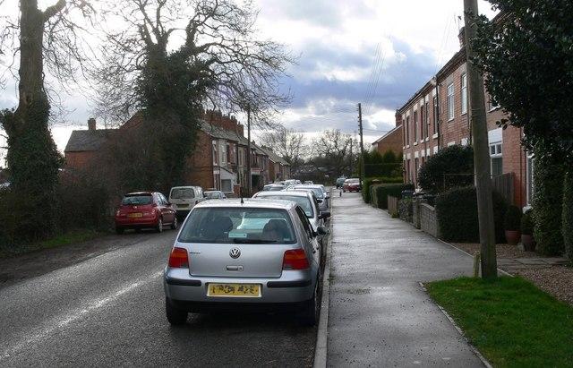 Merrylees Road in Newbold Heath, Leicestershire