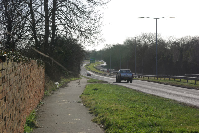 A45 at Ryton on Dunsmore