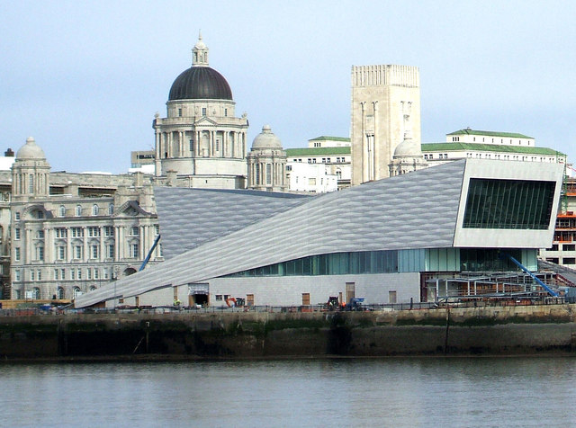 The new Liverpool museum.