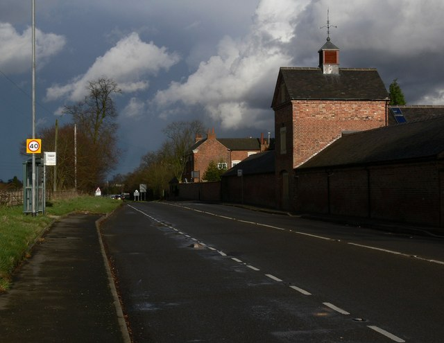 Desford Lane in Newtown Unthank, Leicestershire