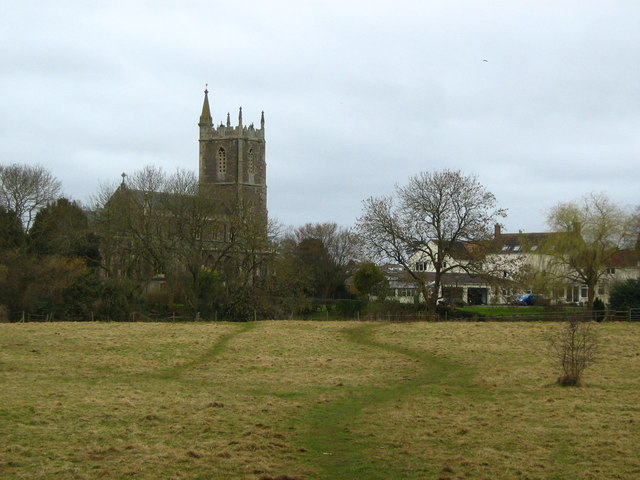 Footpath to Frampton Cotterell church