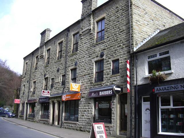 Shops, Burnley Road East