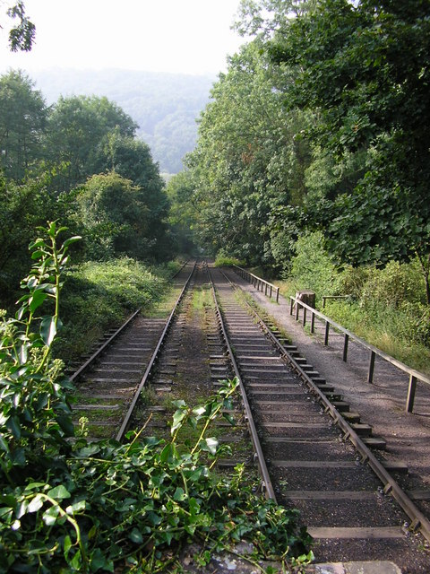 View down the Inclined Plane