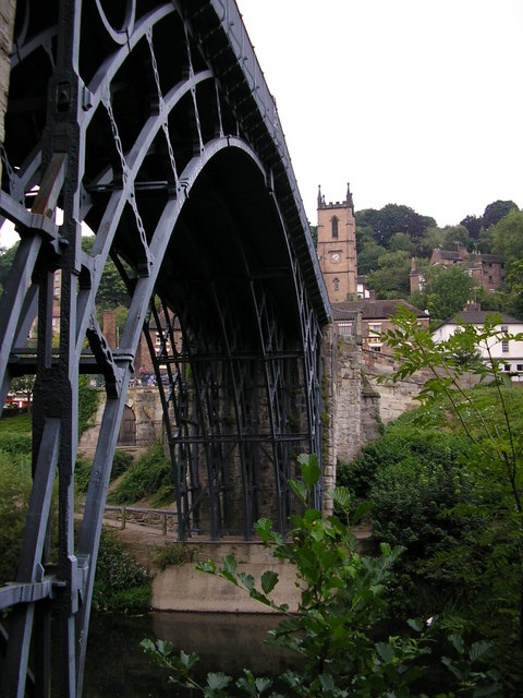 The famous Iron bridge