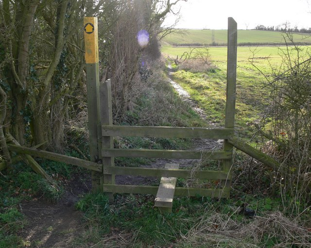 Footpath to Botcheston
