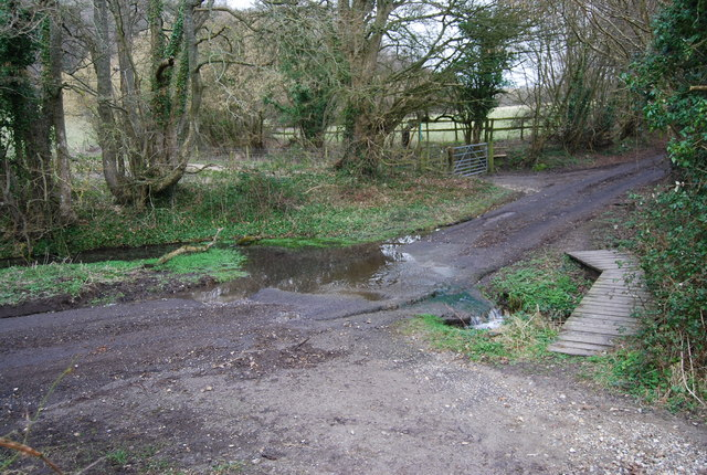 Ford on the road West of Empshott Green