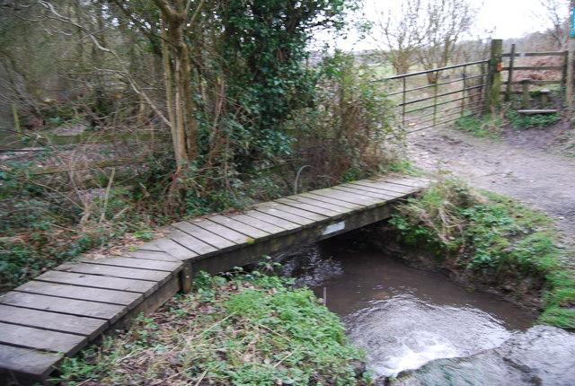 Footbridge for the Hangers Way