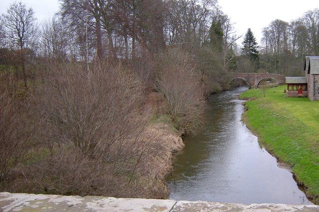 View of Dean Water looking upstream