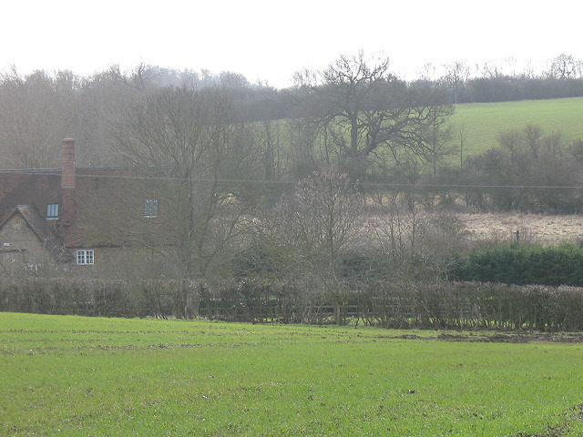 Priory Farm from the north