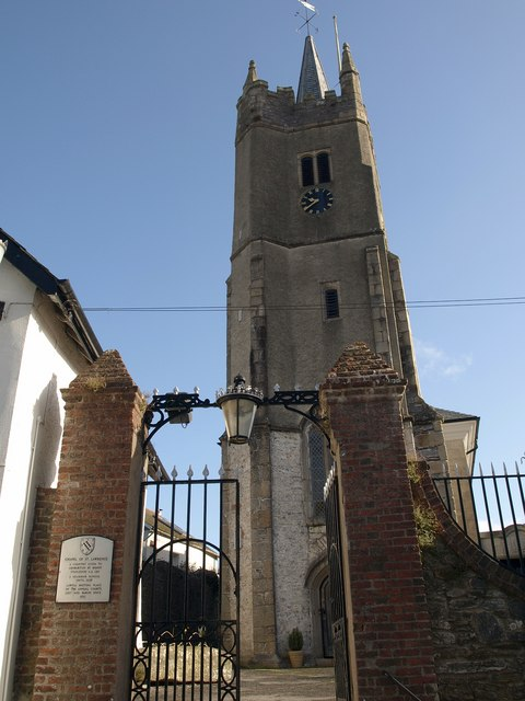 St Lawrence's Tower, Ashburton