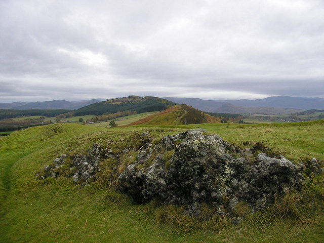 View from summit of Knockfarrel