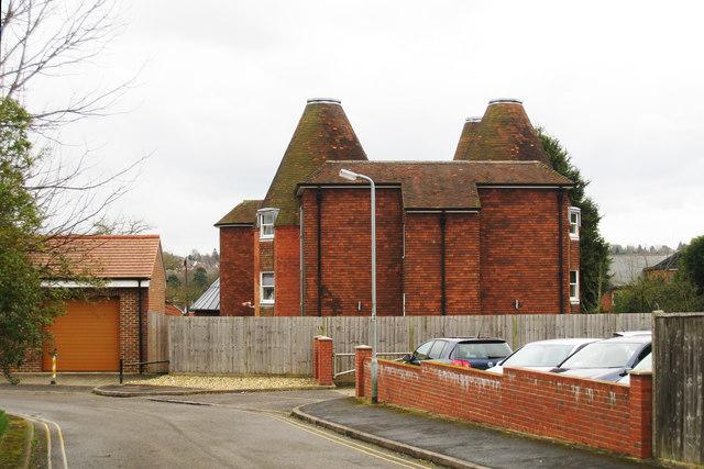 Oast House on West Street, Farnham, Surrey